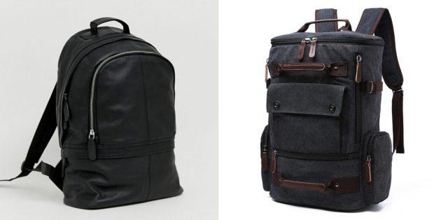 Что подарить любимому на Новый год: рюкзак