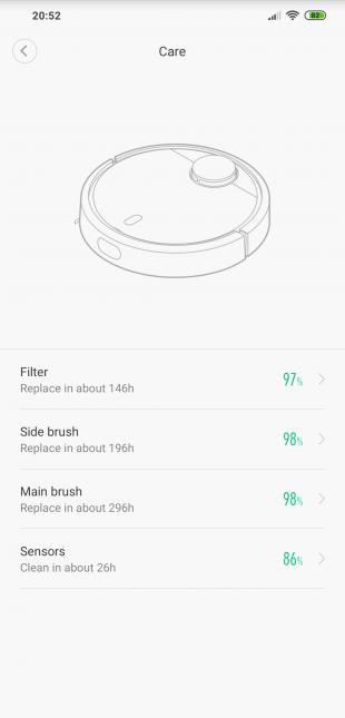 Xiaomi Mi Robot Vacuum: Care