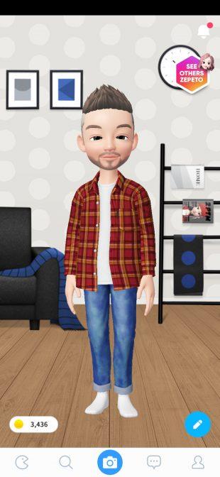 Zepeto: выбор одежды