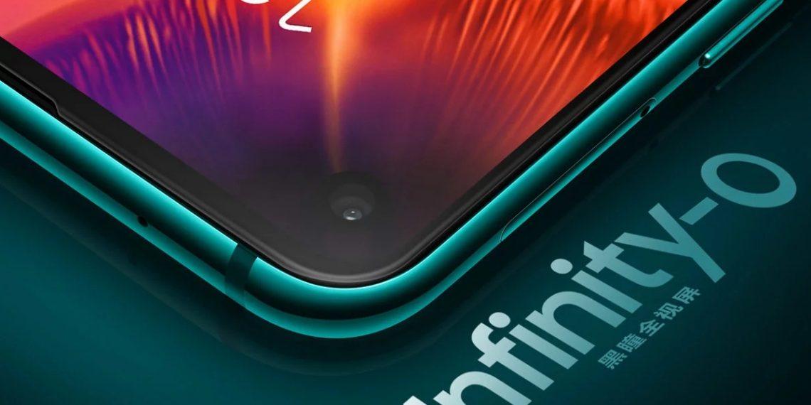Samsung представила безрамочный Galaxy A8s с отверстием в дисплее
