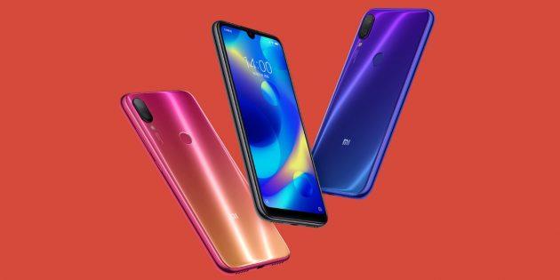 Xiaomi Mi Play: сканер отпечатков пальцев