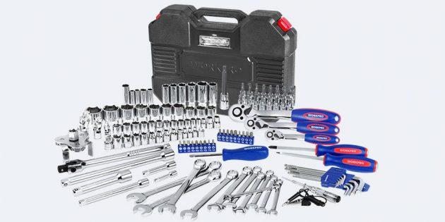 Новогодняя распродажа в Tmall: Набор инструментов Workpro