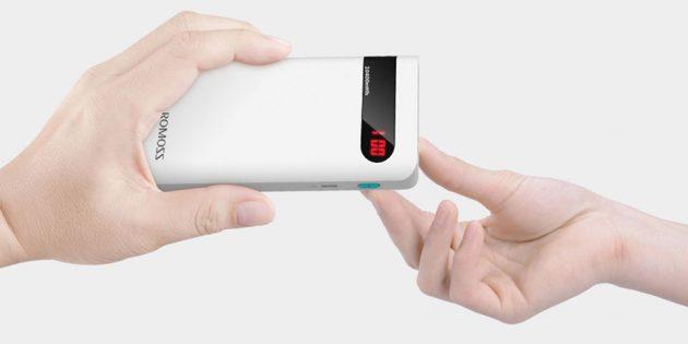 Новогодняя распродажа в Tmall: Внешний аккумулятор Romoss Sense 4P