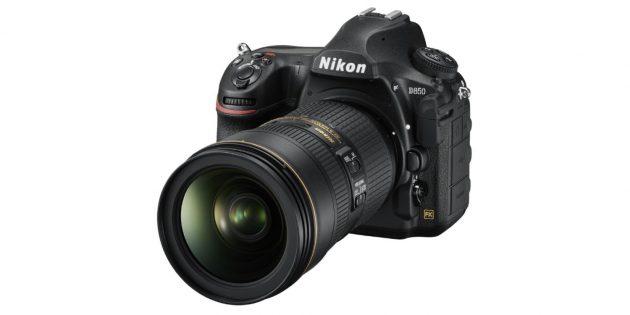 Лучшие фотоаппараты: Nikon D850