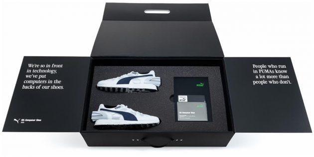 Умные кроссовки Puma RS-Computer: упаковка