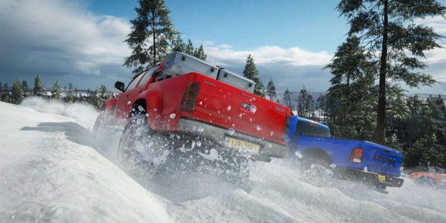Крутые игры для Xbox One: Forza Horizon 4