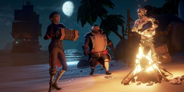 Крутые игры для Xbox One: Сцена из Sea of Thieves