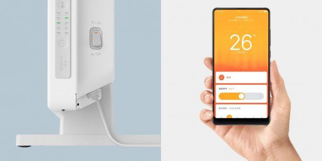Новинки Xiaomi: обогреватель с Wi-Fi и автоматическим поддержанием температуры