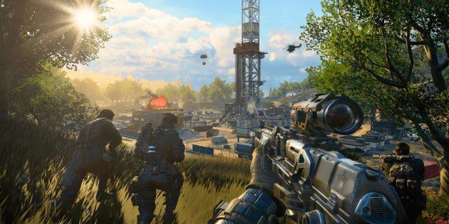 Игры 2018года для простых компьютеров: Call of Duty: Black Ops 4