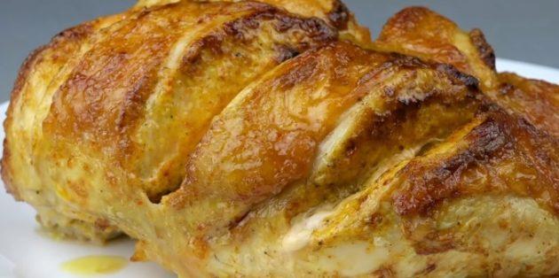 Курица в духовке: