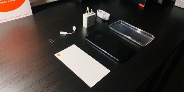 Xiaomi Mi 8 Pro: Комплектация