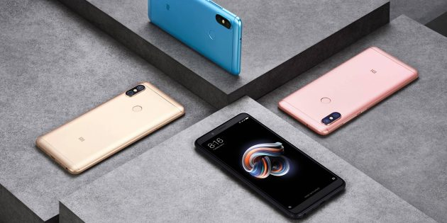 Вещи Xiaomi 2018года: Xiaomi Redmi Note 5