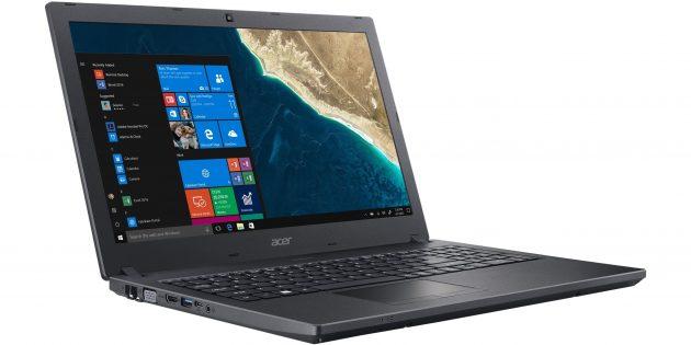 Новые ноутбуки: Acer TravelMate P2