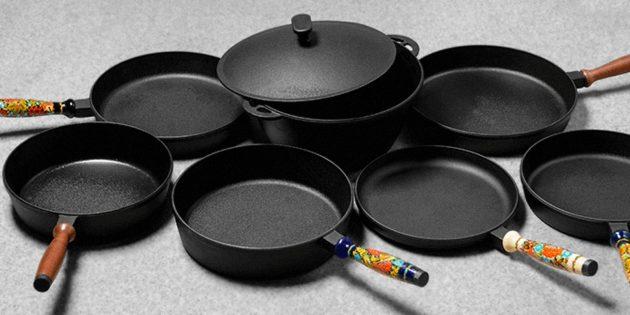 Чугунная посуда: Чугун без покрытия