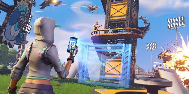Бесплатные игры для PlayStation 4: Fortnite Battle Royale