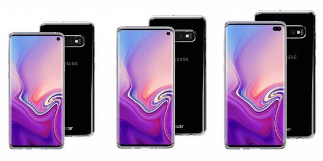 Смартфоны 2019года: Samsung Galaxy S10,Galaxy S10Plusи Galaxy S10Lite