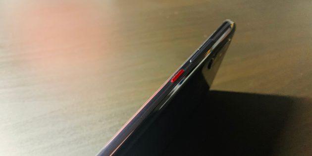 Xiaomi Mi 8 Pro: Кнопка питания