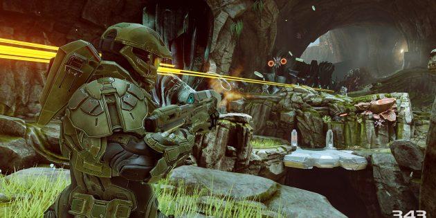 Крутые игры для Xbox One: Halo 5: Guardians