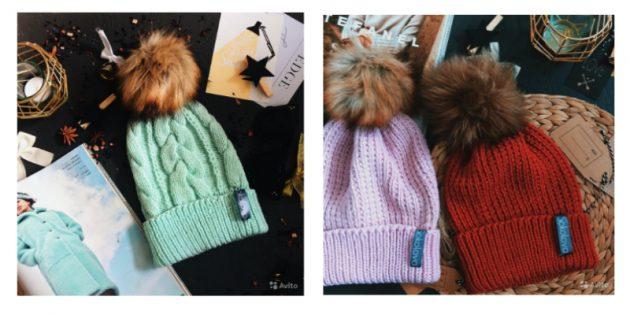 авито подарки: Зимние шапки