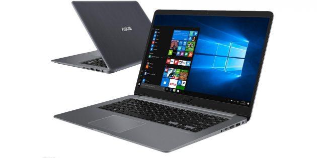 Новые ноутбуки: ASUS VivoBook S15