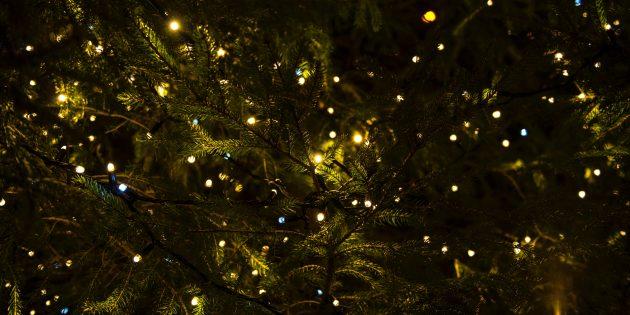 Рождественские традиции: украшение дома гирляндами