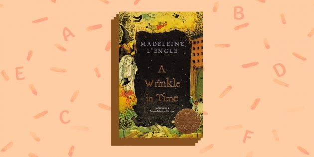 книги на английском языке: «A Wrinkle In Time», Madeline L'engle