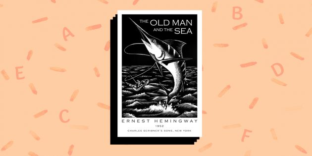 книги на английском языке: «The Old Man and the Sea», Ernest Hemingway