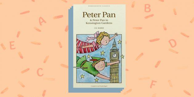 книги на английском языке: «Peter Pan», J. M. Barrie