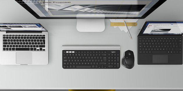 logitech беспроводная: Беспроводные мышь и клавиатура