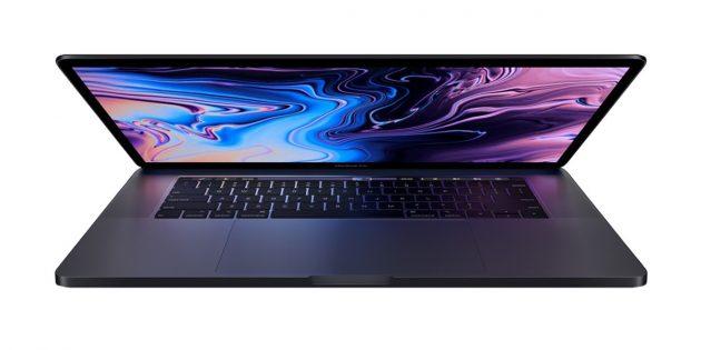 Новые ноутбуки: Apple MacBook Pro 15