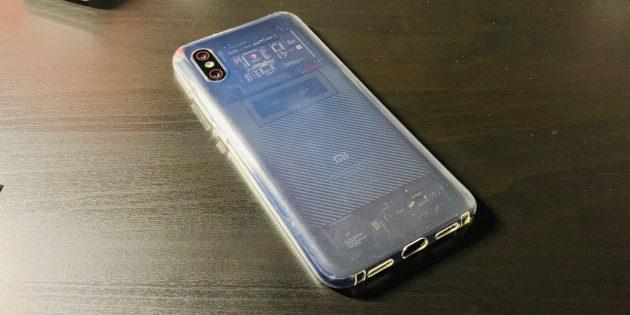 Xiaomi Mi 8Pro: Общий вид с тыльной стороны