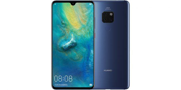 Какой смартфон купить в 2019году: Huawei Mate 20