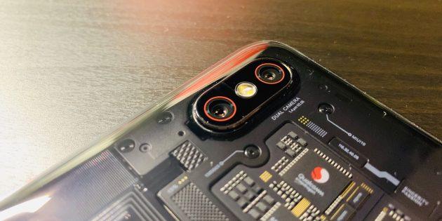 Xiaomi Mi 8 Pro: Модуль камеры