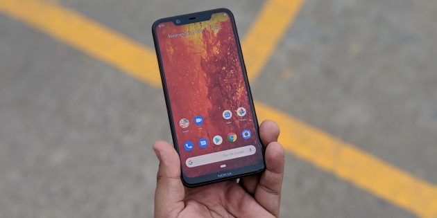 Nokia 8.1 c «чёлкой» и Android 9.0 Pie
