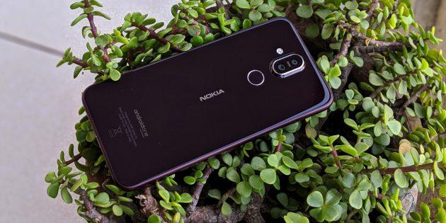 Nokia 8.1: сдвоенная камера