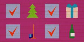 Успеть до 31 декабря: чек-лист для подготовки к Новому году