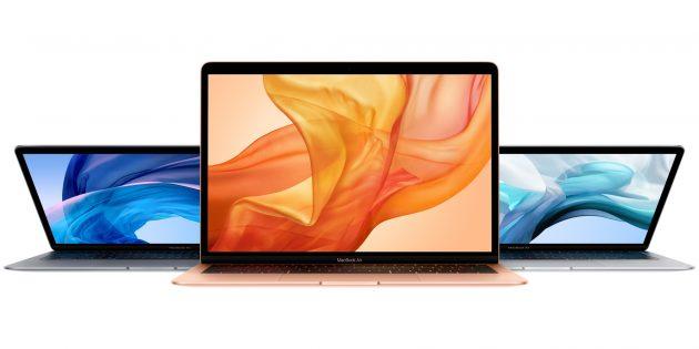 Новые ноутбуки: Apple MacBook Air