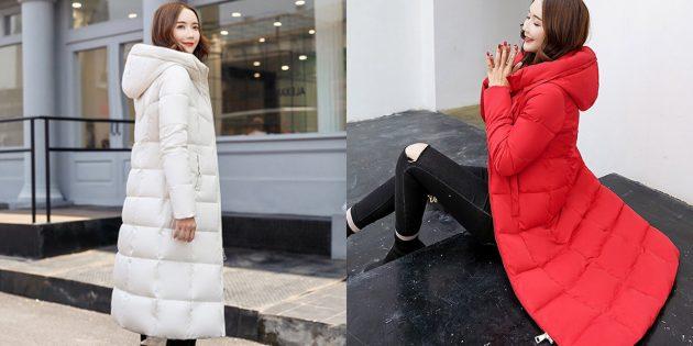 магазин Pandao: Стёганое пальто