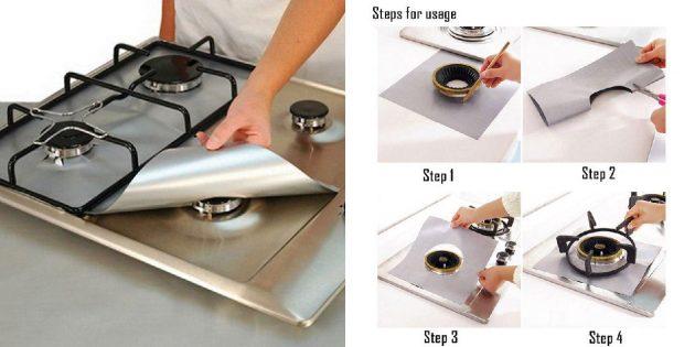 Защита для плиты
