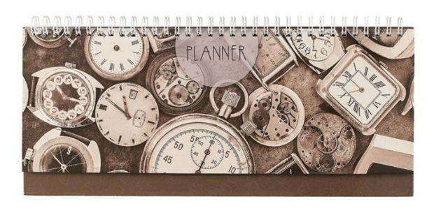 100 новогодних подарков: Настольный планинг
