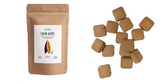 100 новогодних подарков: Натуральные конфеты из кэроба