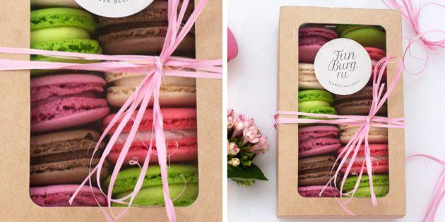 100 новогодних подарков: Коробочка с макаронами
