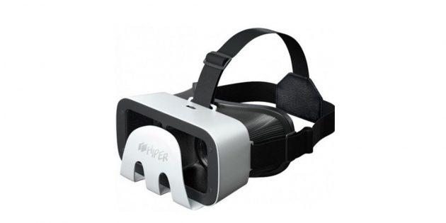 100 новогодних подарков: Очки виртуальной реальности Hiper VRR