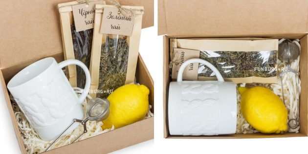 100 новогодних подарков: Чайный набор