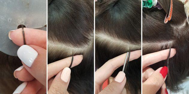 Наращивание волос: Итальянское наращивание