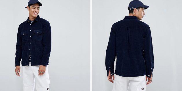 Рубашка из вельвета Asos Design