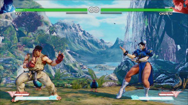 Street Fighter V: Файтинг