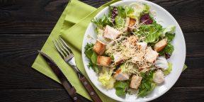 11 лучших рецептов салата цезарь. Это точно стоит попробовать