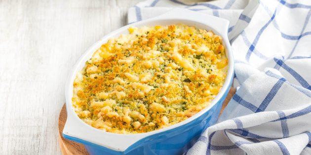 Рецепты: свинина с яблоками и картофелем, запечённая в духовке в сливочном соусе