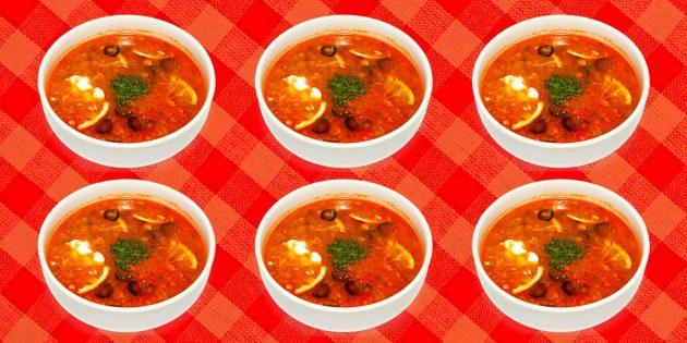 Как приготовить солянку: 5 рецептов и 5 секретов